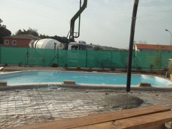 chantier tour de mare 1 partie