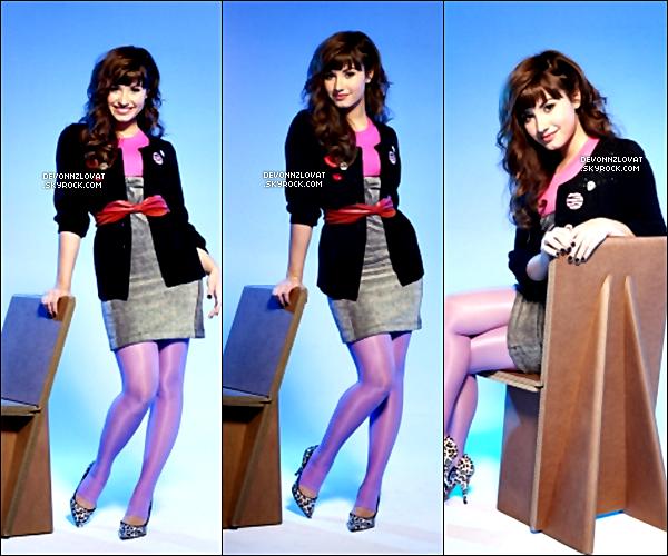Re découvrez un photoshoot de Demi Lovato en 2008, pour le magasine « Teen ».