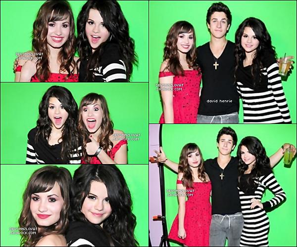 22/07/2008 : Demi Lovato étais présente a l'anniversaire de Selena Gomez.