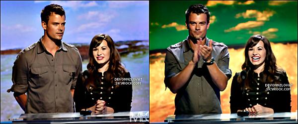 03/08/2008 : Demi Lovato étais présente au « Teen Choice Awards 2008 » a L.A.
