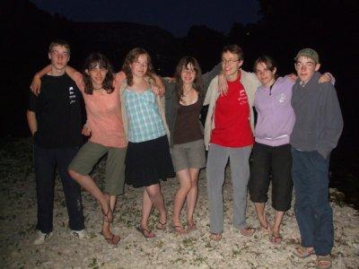 Stage jeune dans les Gorges du Tarn du 3 au 9 juillet