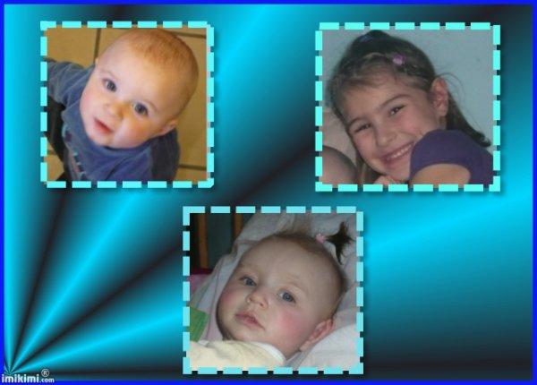 mes trois petit amour