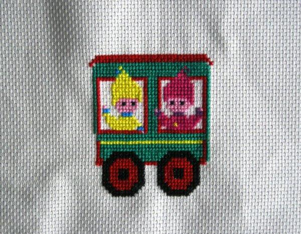 en train ...