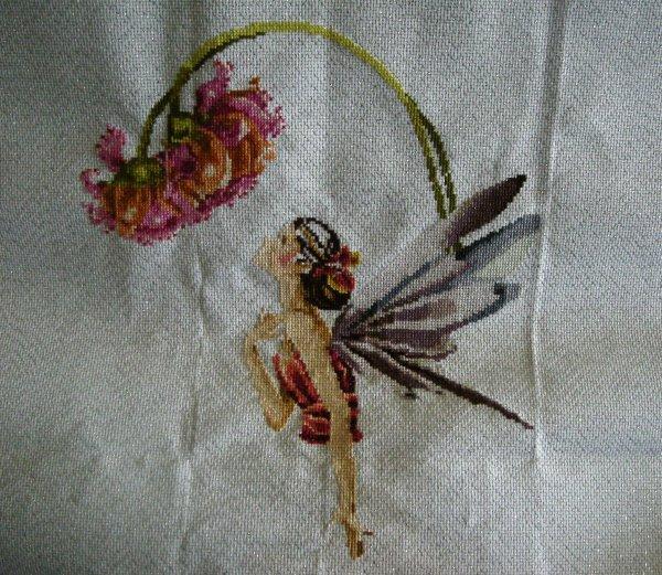Des ailes scintillantes