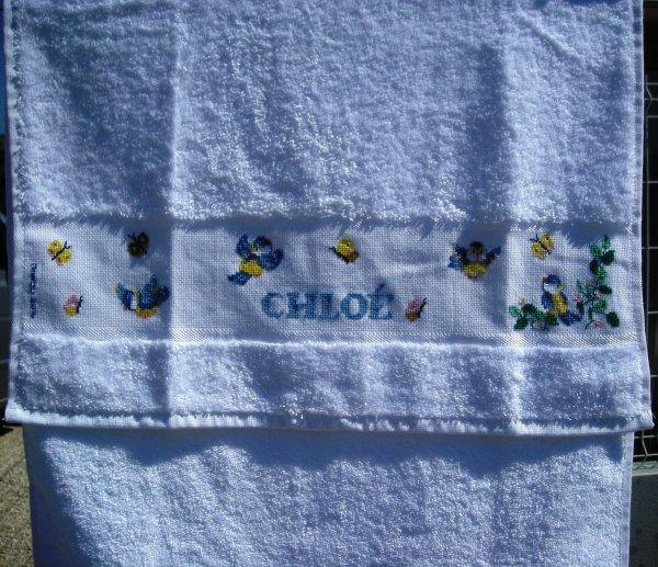 La serviette de Chloé