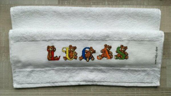 La serviette de Lucas