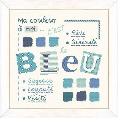 Bleu et rose !