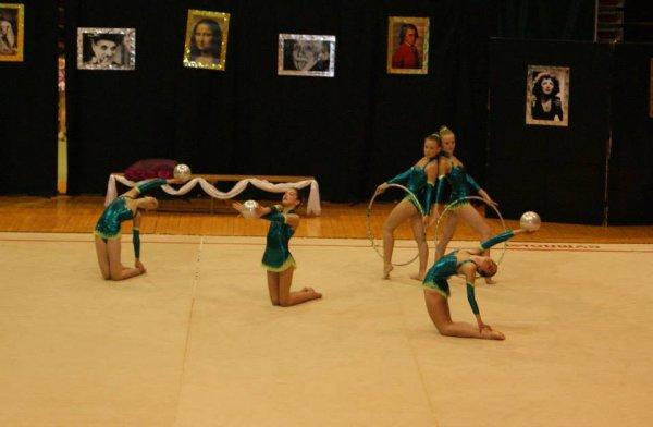 La gymnastique rythmique revisite les personnages célèbres !