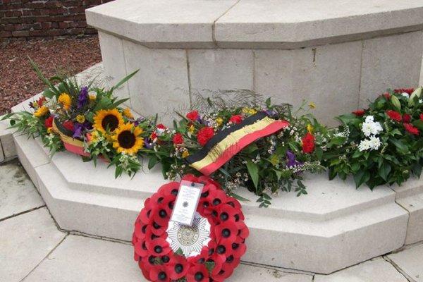 Commémoration:  cimetière d'Audregnies