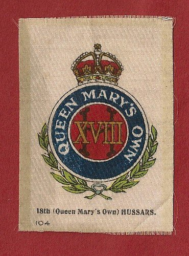 Le 18ème Queen Mary's Hussards