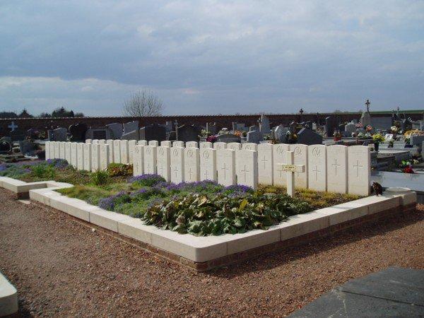 Plans des cimetières d'Audregnies, Elouges