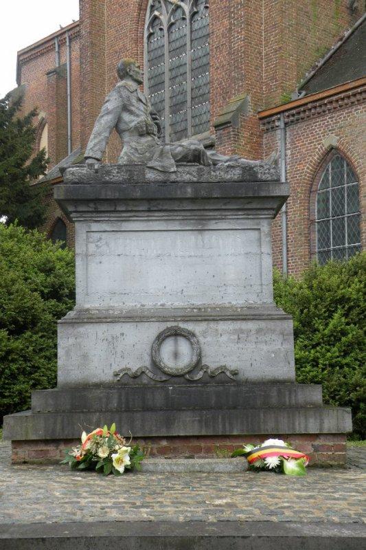 Combattants, prisonniers et déportés à Audregnies.