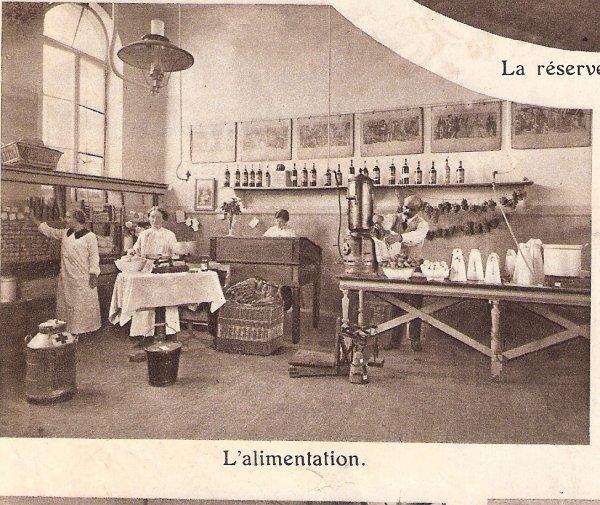 Ambulance en 1914