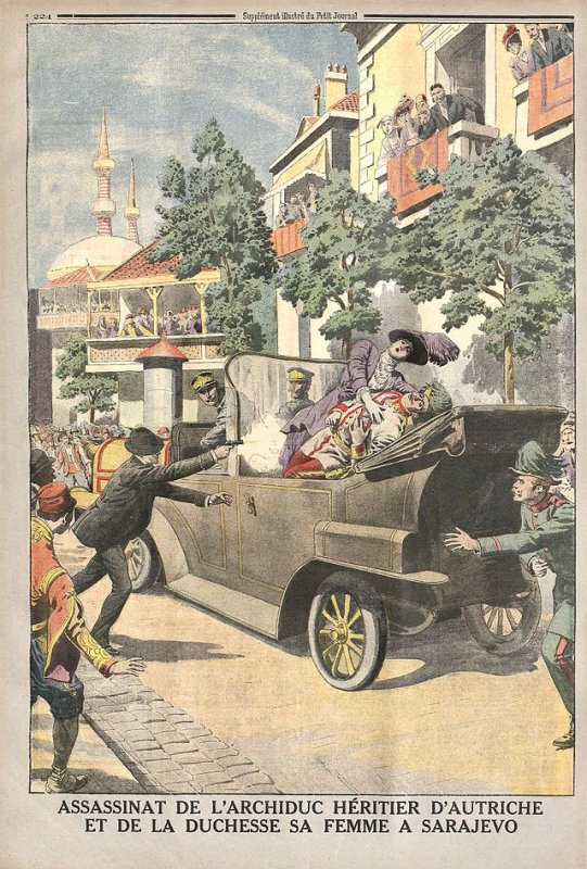 Attentat de Sarajevo.