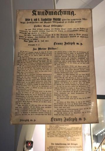 Déclaration de guerre à la Serbie.