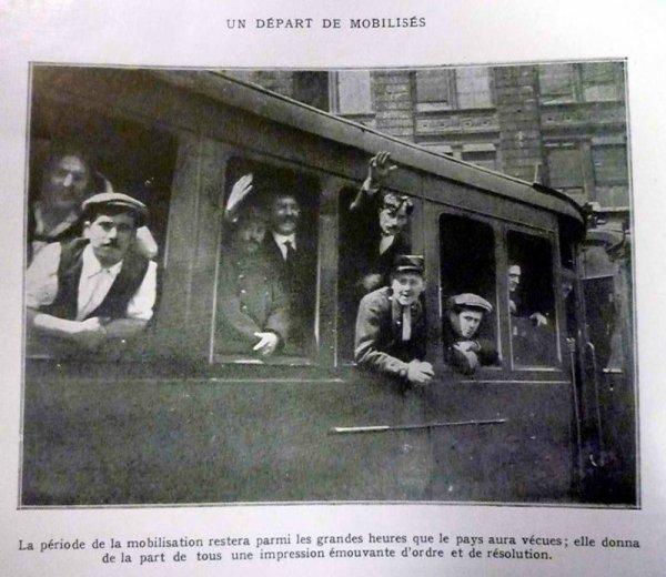 Mobilisation belge.