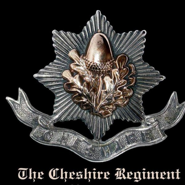The Cheshire Regiment.