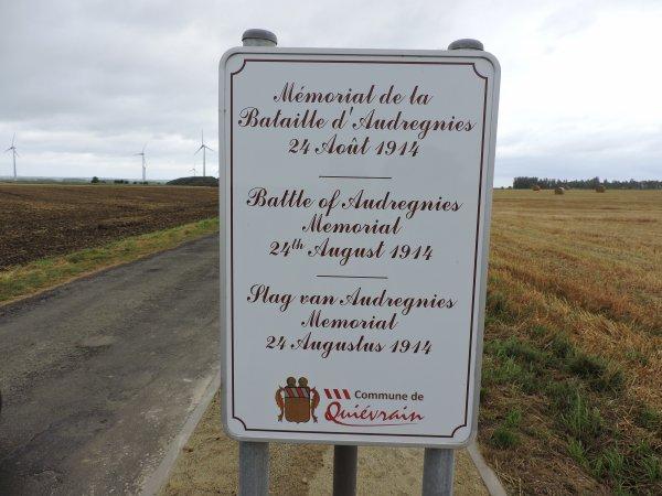 Commémoration 2016, de la bataille d'Audregnies