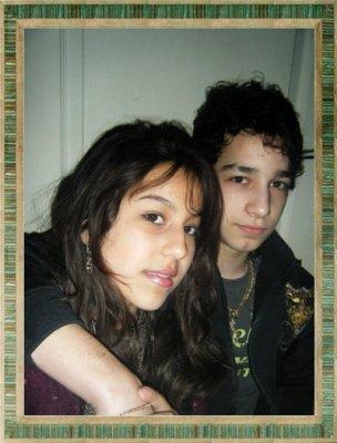 Fabio et Vanessa, mes enfants !