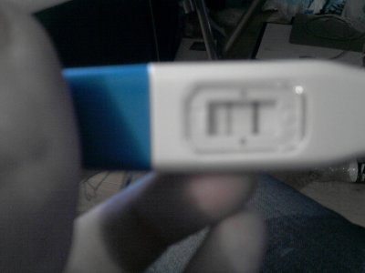 mon test de grossesse!