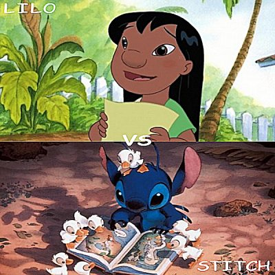 Lilo vs Stitch