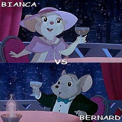 Bianca vs Bernard