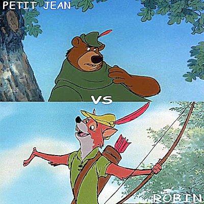 Petit Jean vs Robin