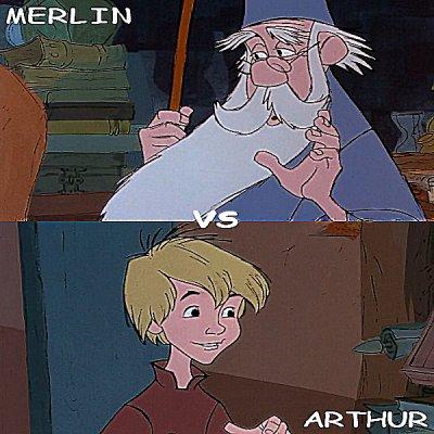 Merlin vs Arthur