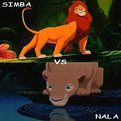 Simba vs Nala