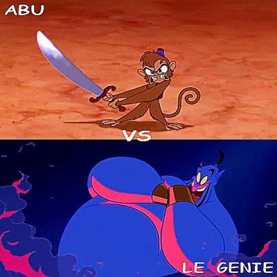 Abu vs Le Génie