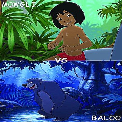 Mowgli vs Baloo