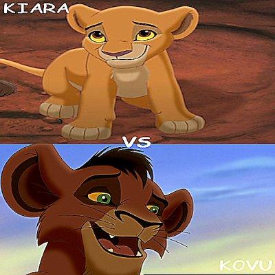 Kiara vs Kovu