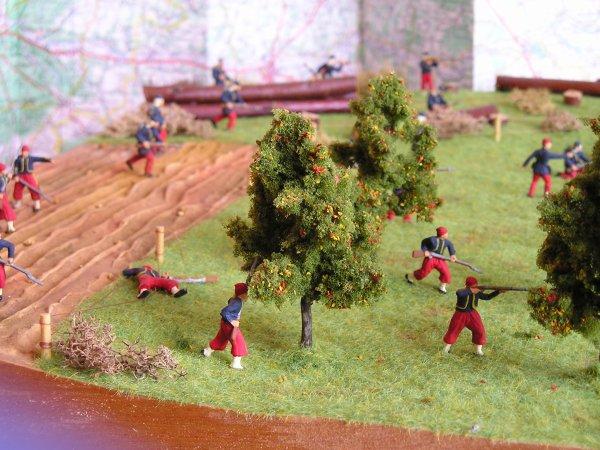 1er Diorama : La bataille de la Marne 6 septembre 1914