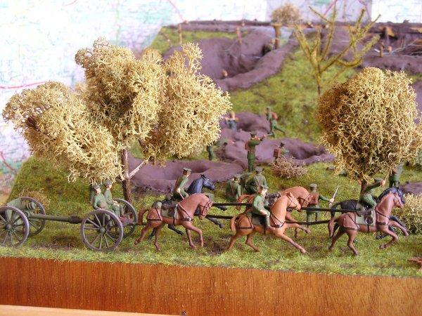 2 ème Diorama : La mêlée des Flandres