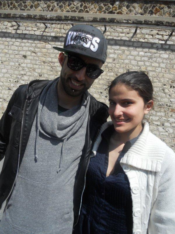 Nino et moii au Zénith de Paris le 12.05.2012