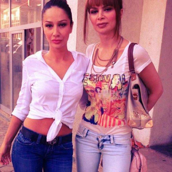 ema & zanfina ismaili ♥♥