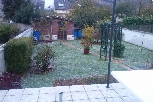 neige aujourd hui..neve hoje