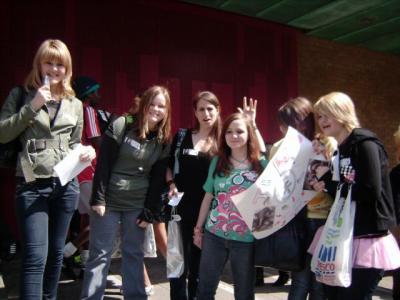 rencontre de fans du 26 avril 2008 à londres