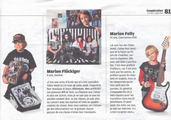 """Coop Magazine """"Je suis fan de TH"""" (Suisse)"""