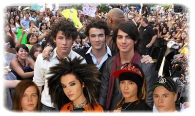 Jonas Brother VS Tokio Hotel !!!