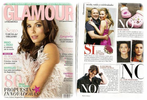 Glamour n°8 (Amérique latine)