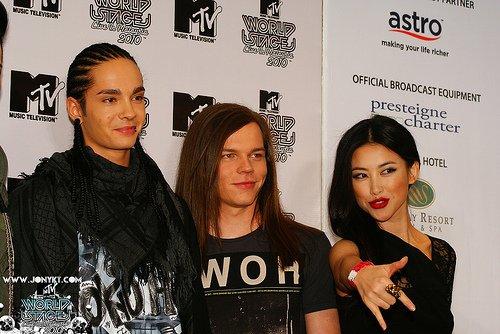 BRAVO = Katy Perry : En froid avec Tokio Hotel
