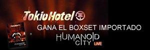TOKIO HOTEL MEXICO : Gagne un Boxset Exclusif de Humanoid City Live.