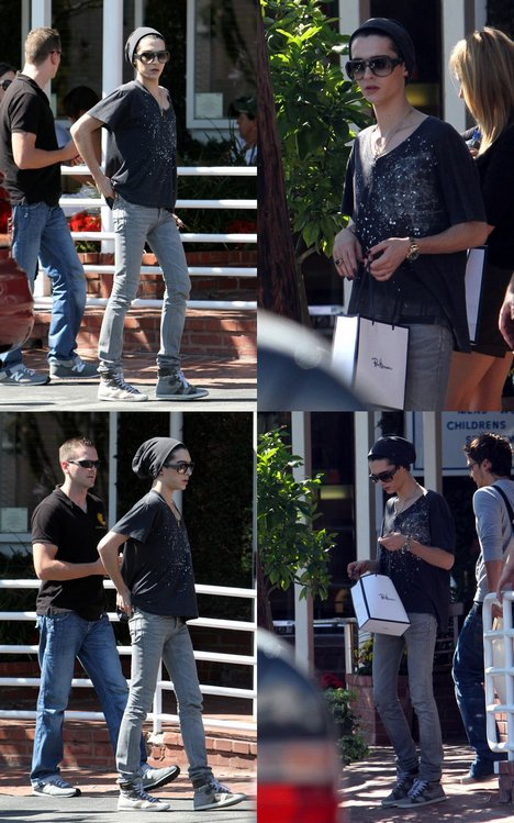 26.08.2010 - , Fred Segal - Beverly Hills, Hollywood.
