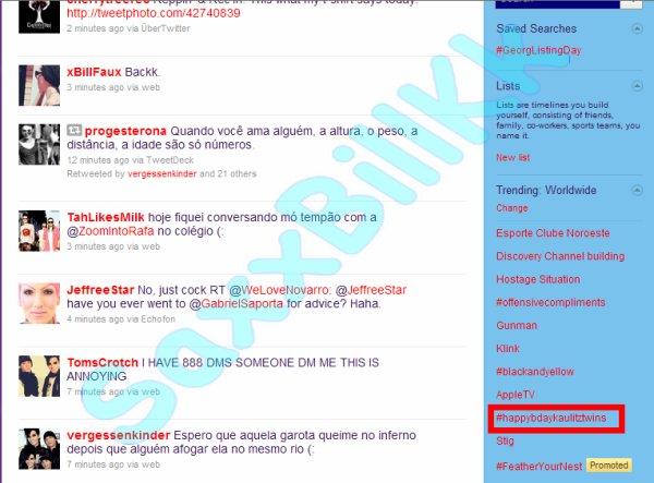 Fanaction Latino Réussi : Anniversaire des TH en Trending Worldwide sur Twitter