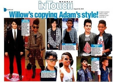 Adam Lambert admet copier Bill Kaulitz