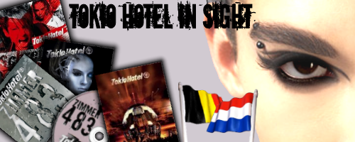 Concours FCs Officiels Belgique et Hollande - Tokio Hotel in sight!