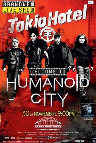 Tokio Hotel pour la première fois à Monterrey ! [ Facebook Zigna Live ]
