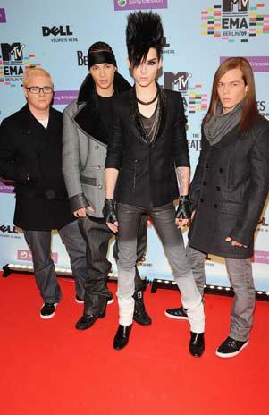 Tokio Hotel offre un concert dans le ''Palacio de los Deportes''