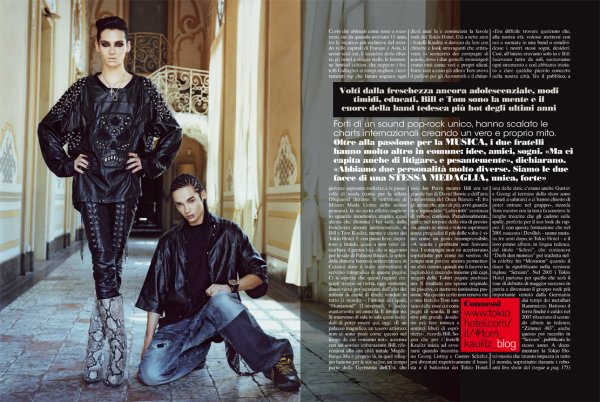 L'Uomo Vogue (octobre 2010) - Italie